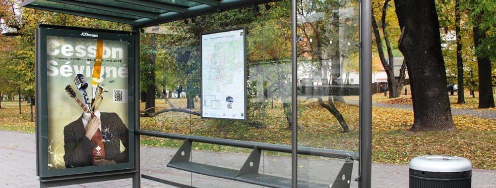 Affiche pour la ville de Cesson-Sévigné 1